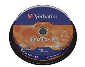 Spindle 10 DVD-R 4.7 GB 16x