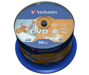 Spindle 50 DVD-R 4,7 GB 16x