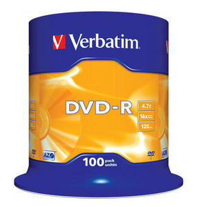 Spindle 100 DVD-R 4,7 GB 16x