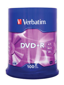 Spindle 100 DVD+R 4,7 GB 16x